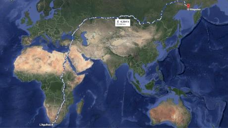 Care este cel mai lung drum din lume care poate fi parcurs pe jos?