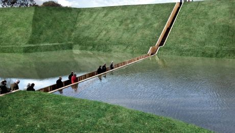 """Cum arată """"Podul lui Moise"""" din Olanda? În ce an a fost construit?"""