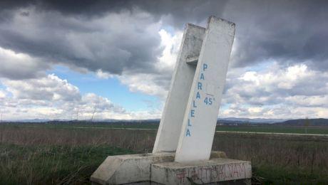 Ce paralele trece prin România? Câte județe și localități traversează aceasta?