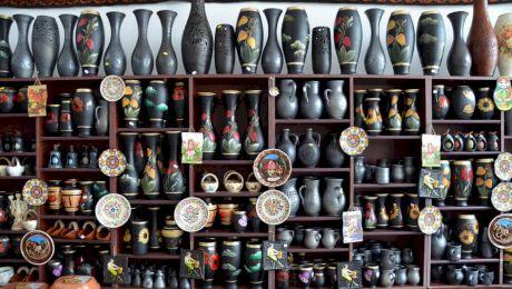 Este adevărat că România e singurul loc din Europa unde se produce ceramică neagră?