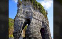 Care e povestea stâncii elefant, Elephant Rocks, din Noua Zeelandă?