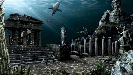 Atlantida și misterul orașului scufundat. Care este legătura cu Triunghiul Bermudelor?
