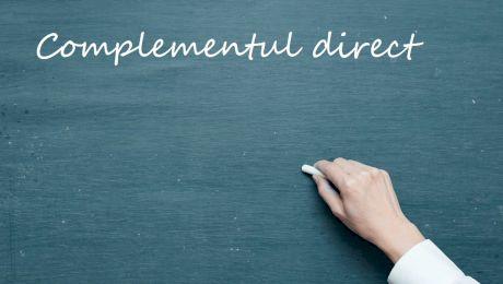 Ce este complementul direct? La ce întrebări răspunde complementul direct?