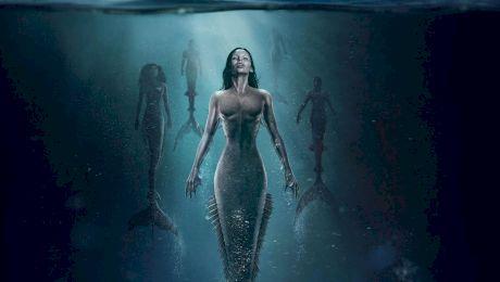 Sirenele, prima apariție pe coastele mărilor europene