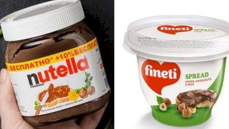Care sunt diferențele dintre Nutella și Fineti?