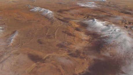 Când a nins semnificativ în deșertul Sahara? Cât a durat?
