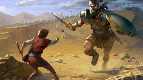 David și Goliat și lupta dintre ei. Cât este adevăr și cât este mit?