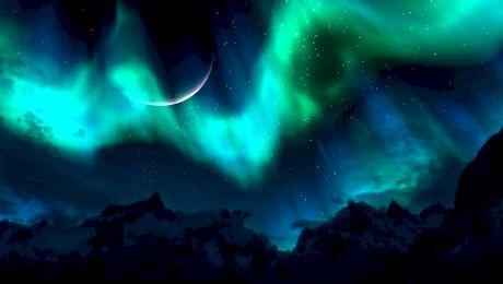 Aurora boreală, cel mai frumos fenomen meteo vazut de ochiul uman