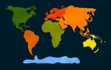 Care este singurul continent de pe Glob fără un vulcan activ?