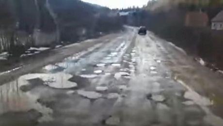 Cum arată cel mai prost drum din România? Unde se află acesta?