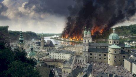 Este adevărat că orașul Salzburg a fost distrus în întregime în 1818?