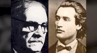 Fabuloasa întâlnire dintre Tudor Arghezi și Mihai Eminescu