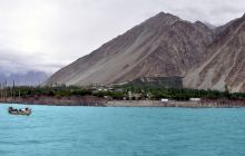 Cum arată Shimshal, lacul cu cea mai frumoasă formă din lume?