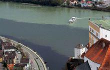 Cum arată locul unde se întâlnesc râurile Ilz, Inn și fluviul Dunărea?