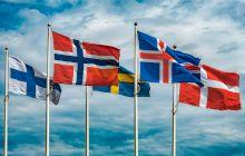 De ce steagurile țărilor scandinave au o cruce desenată pe ele?