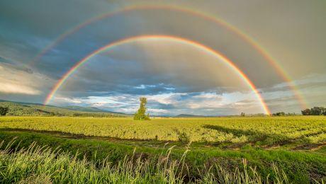 Care este locul unde poți vedea cele mai spectaculoase curcubeie?