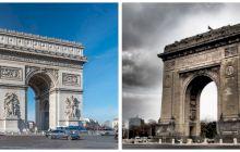 Când și cum a fost construit Arcul de Triumf din București?