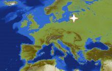 Unde este și cum arată centrul Europei?
