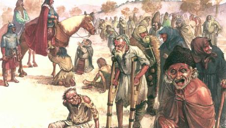 Planul terifiant al lui Vlad Țepeș: a adunat toți cerșetorii și hoții, i-a ospătat și apoi le-a dat foc